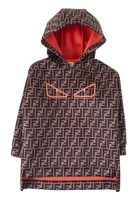 Girl sweatshirt FENDI KIDS | Sweatshirts | JFH090A8LGF0MEL