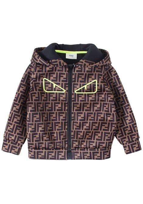 Logoed baby jacket FENDI KIDS | Jacket | JMA148A8LGF0TP0