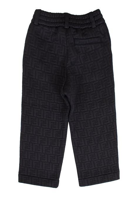 Child logoed trousers FENDI KIDS | JMF217A7LNTF0RX2