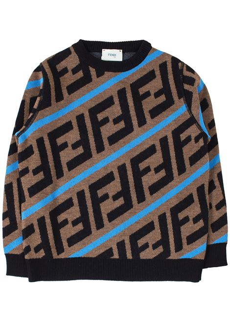 Pull child FENDI KIDS | Sweaters | JMG051A8L7F17TR