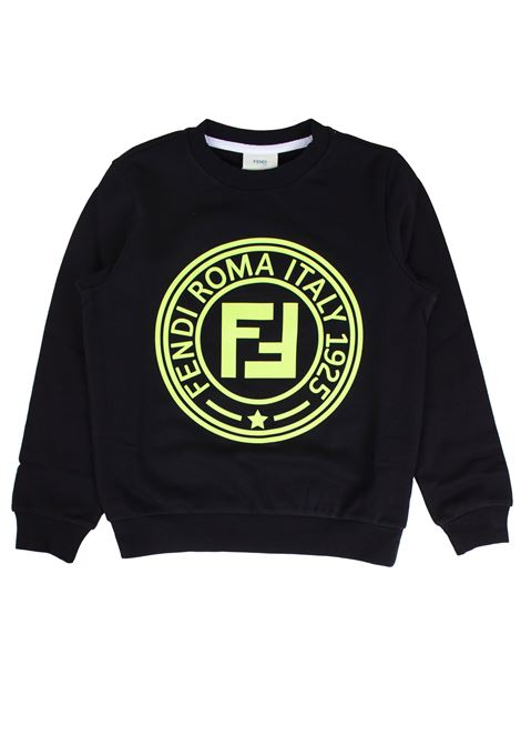 Sweatshirt with baby logo FENDI KIDS | Sweatshirts | JMH1005V0F0RX2