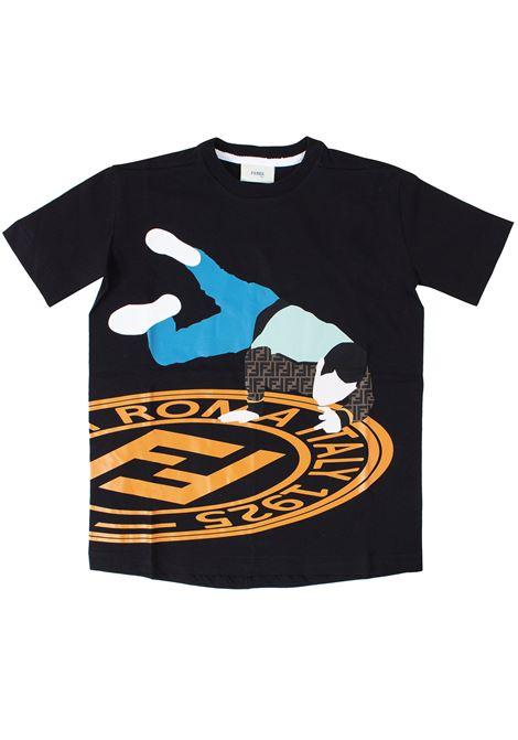 T-shirt bambino FENDI KIDS   T-shirt   JMI2847AJTF0QA1