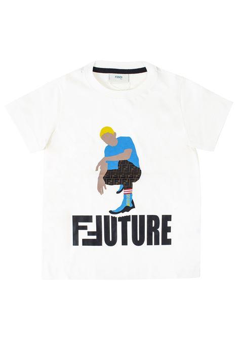 Baby T-shirt FENDI KIDS | T-shirt | JMI2877AJF16WF
