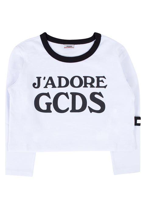 T-shirt bambina con stampa GCDS KIDS | T-shirt | 020523T002