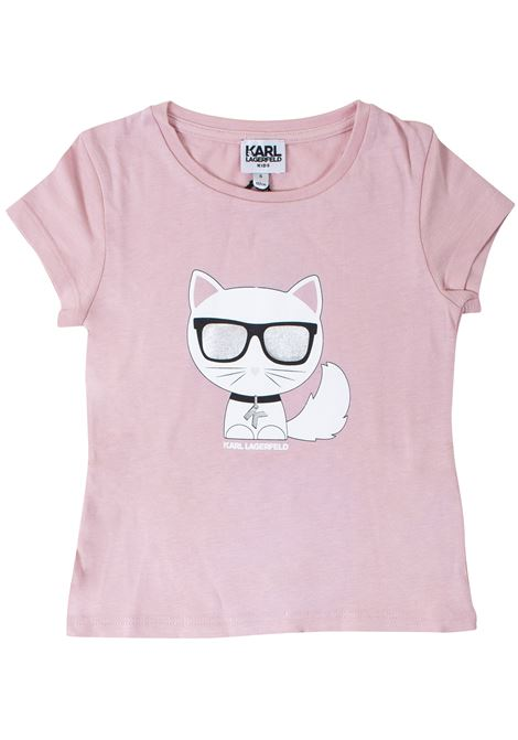 T-shirt girl KARL LAGERFELD KIDS | T-shirt | Z15207T45R