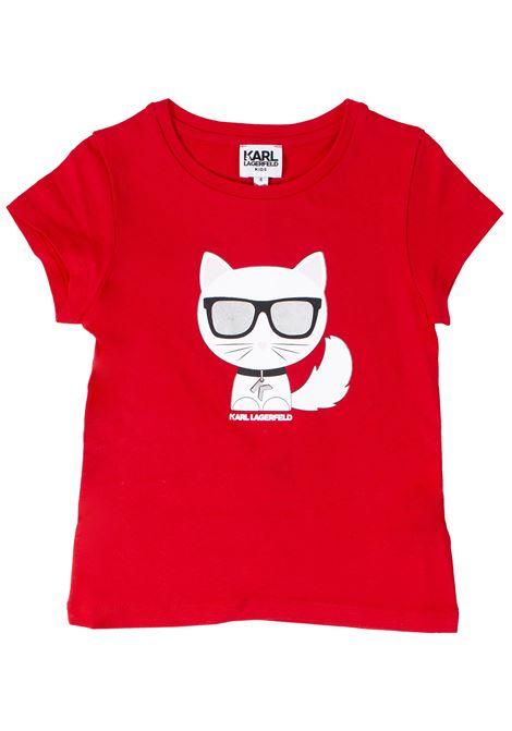 T-shirt bambino KARL LAGERFELD KIDS | T-shirt | Z15207T97E