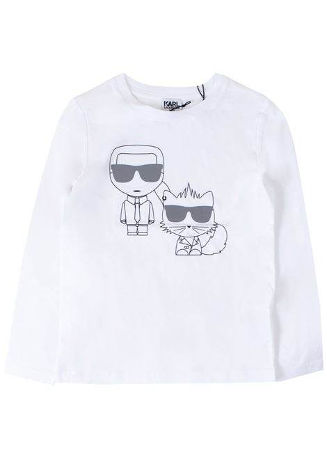 T-shirt child KARL LAGERFELD KIDS | T-shirt | Z2520710B