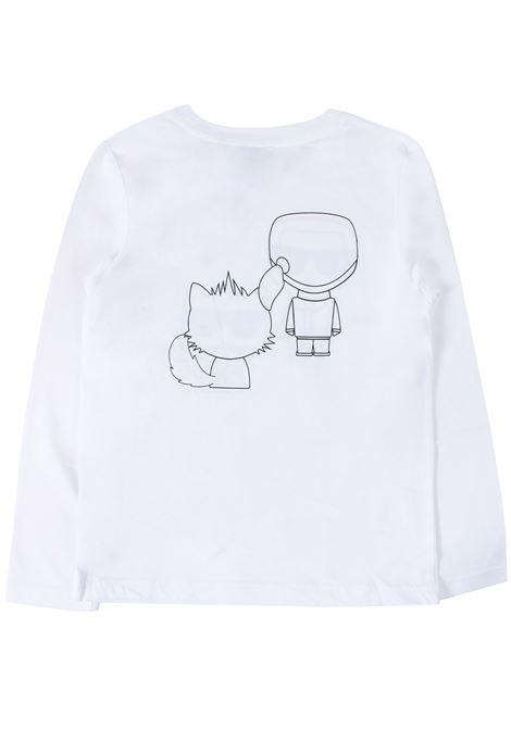 T- shirt bambino KARL LAGERFELD KIDS | Z2520710B