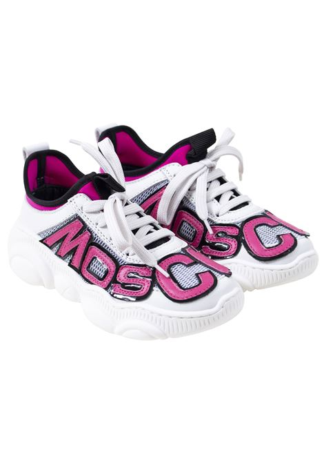 Little girl sneakers MOSCHINO KIDS | Sneakers | 618181