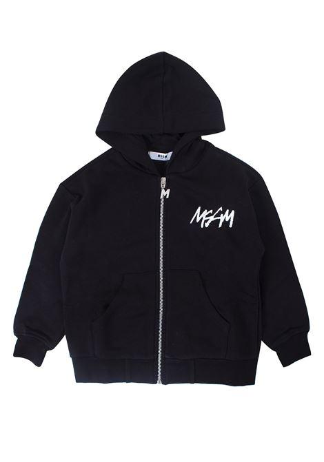 Kids sweatshirt with zip and hood MSGM KIDS | Jacket | 020247T110