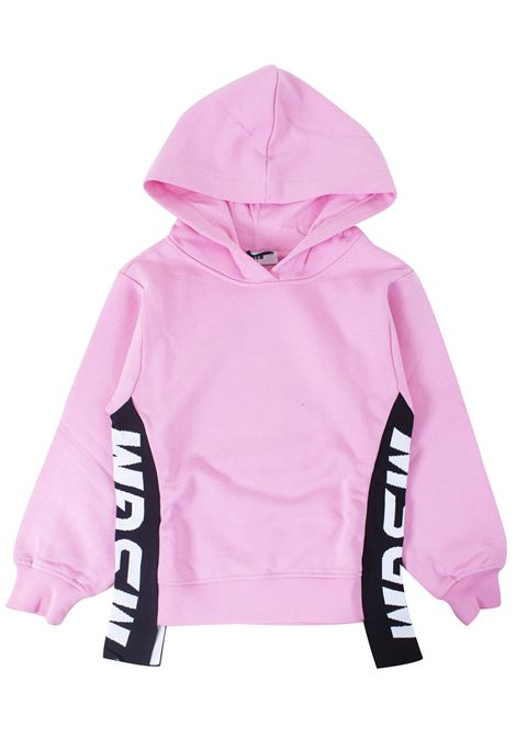 Girl sweatshirt with hood MSGM KIDS | Sweatshirts | 020285T042