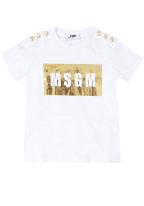 T-shirt girl MSGM KIDS | T-shirt | 020681001