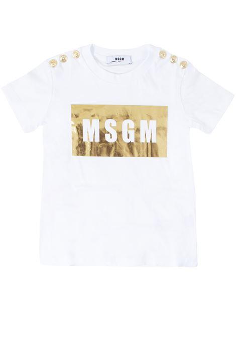 T-shirt bambina MSGM KIDS | T-shirt | 020681T001