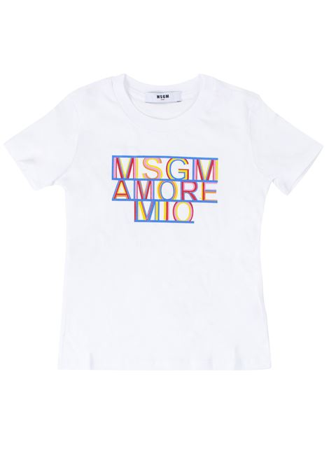 T-shirt girl MSGM KIDS | T-shirt | 020707T001