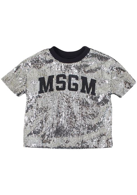 T-shirt girl MSGM KIDS | T-shirt | 020717T122
