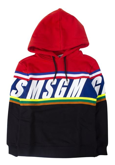 Kids sweatshirt with hood MSGM KIDS | Sweatshirts | 021371T110/07