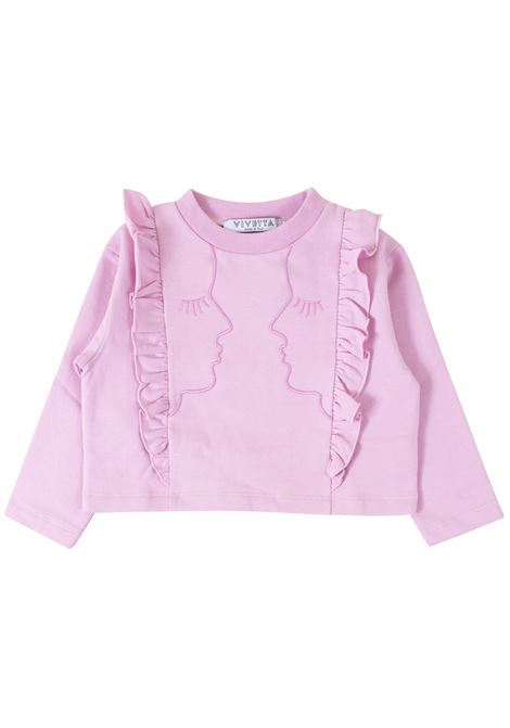 Girl sweatshirt VIVETTA KIDS | T-shirt | VB245389
