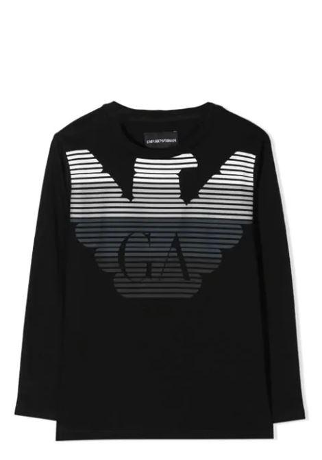 EMPORIO ARMANI KIDS  EMPORIO ARMANI KIDS   T-shirt   6H4T17-1J00Z0999