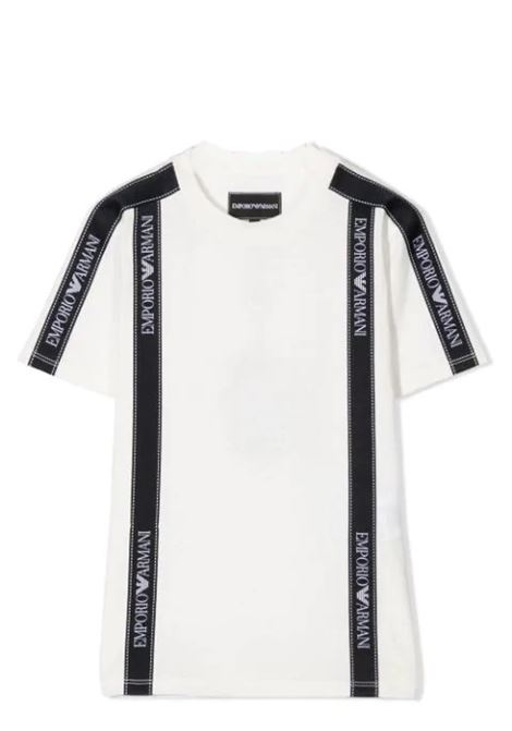 EMPORIO ARMANI KIDS  EMPORIO ARMANI KIDS   T-shirt   6H4TG4-1JTUZT0101