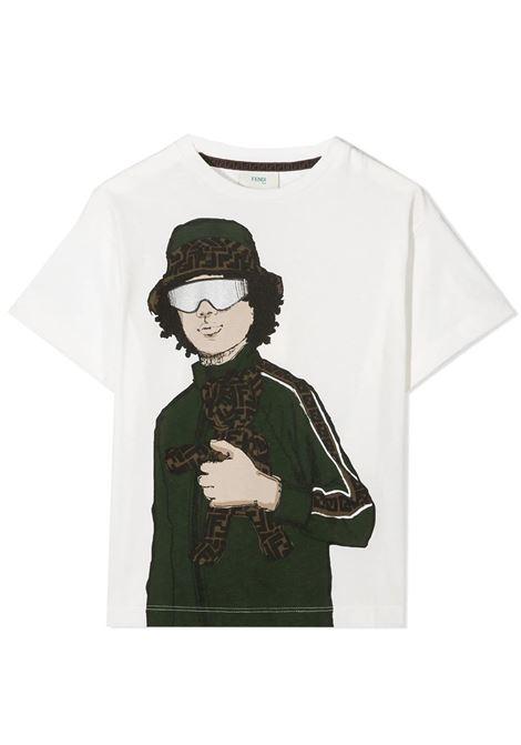 FENDI KIDS  FENDI KIDS | T-shirt | JMI331 7AJF0TU9