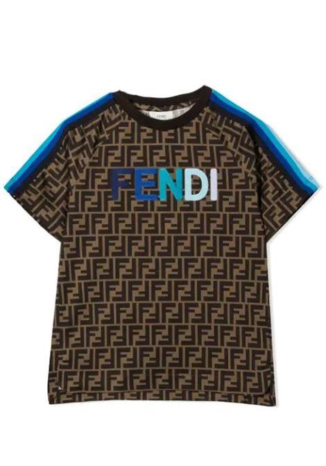 FENDI KIDS FENDI KIDS | T-shirt | JUI015 ACZSF1BWE