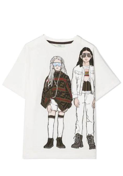 FENDI KIDS FENDI KIDS | T-shirt | JUI016 7AJF0TU9