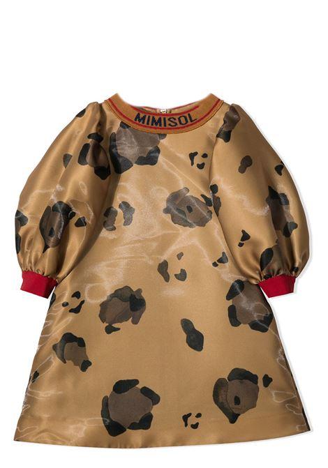 MIMISOL KIDS MIMISOL | Dress | MFAB184-TS0403BRW