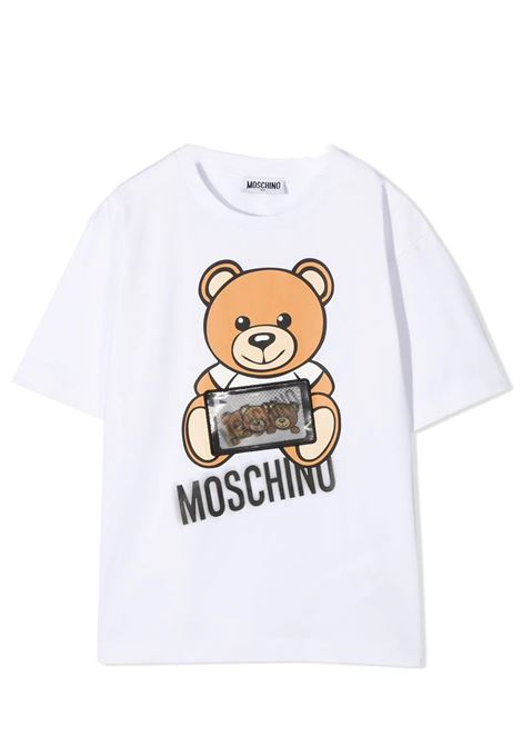 MOSCHINO KIDS MOSCHINO KIDS | T-shirt | H7M029LBA1210101