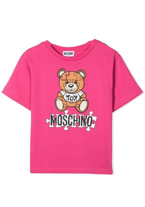 MOSCHINO KIDS MOSCHINO KIDS | T-shirt | HUM02XLBA11T50569