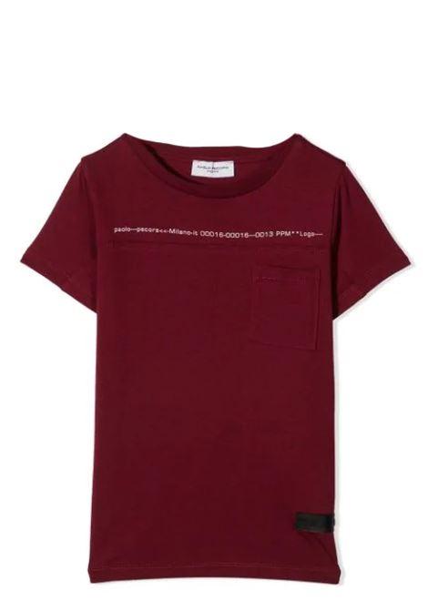 PAOLO PECORA KIDS PAOLO PECORA KIDS | T-shirt | P242514