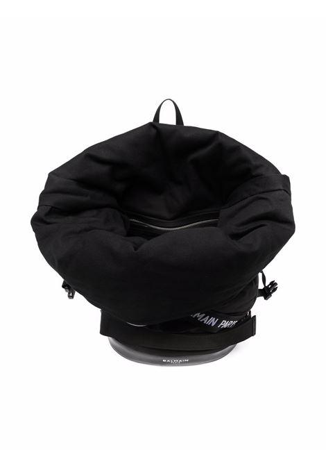 Padded backpack with logo BALMAIN KIDS | 6P0D28 N0041930