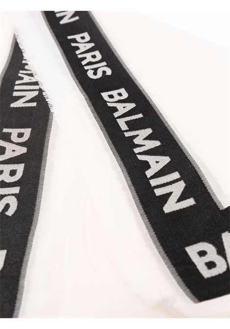 Scarf with embroidery BALMAIN KIDS | 6P0D83 Z0099100NE