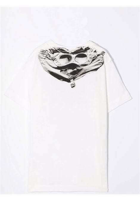 T-shirt con stampa C.P. COMPANY KIDS | 11CKTS302A005792WT103