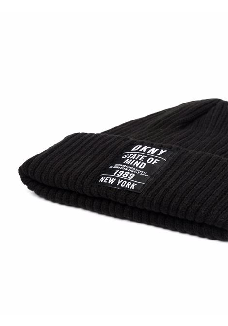 Ribbed cap DKNY KIDS | D3127809B