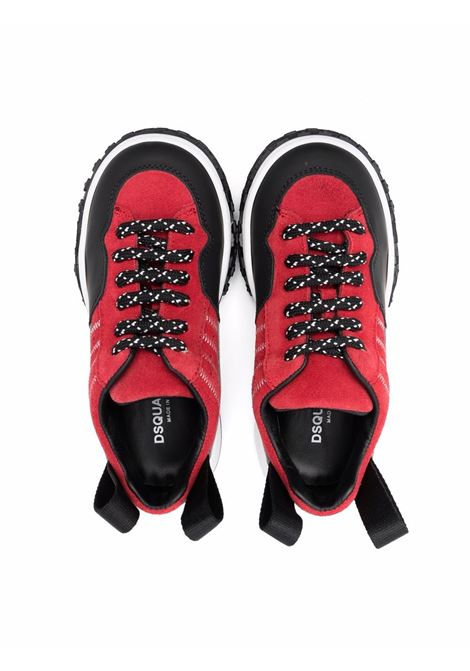 Sneakers with print DSQUARED2 JUNIOR | 685241