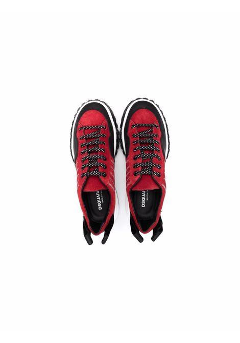 Sneakers con stampa DSQUARED2 JUNIOR | 685712