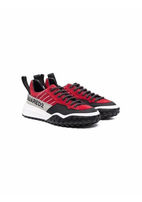 Sneakers with print DSQUARED2 JUNIOR | 68571T2