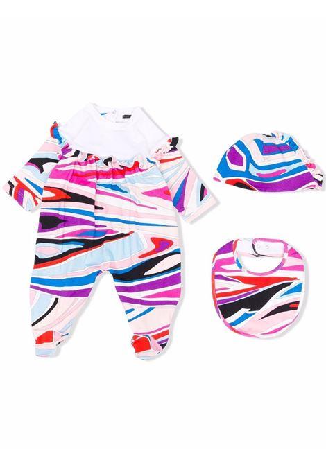 Newborn set with print EMILIO PUCCI | 9P8530 J0058514CE