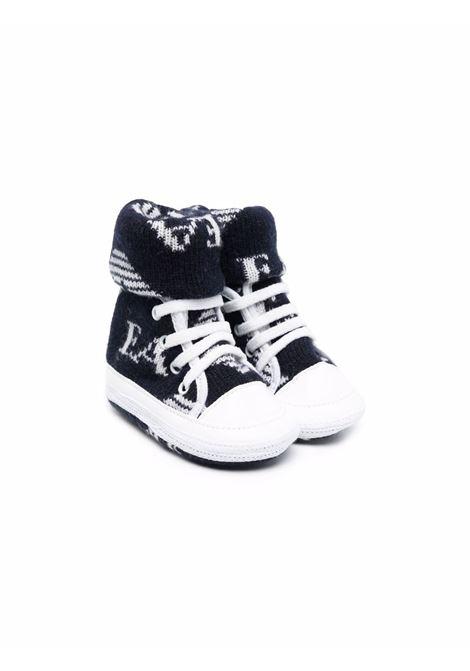 Set scarpa più coperta con stampa EMPORIO ARMANI KIDS | 6KN707 NM00ZF930