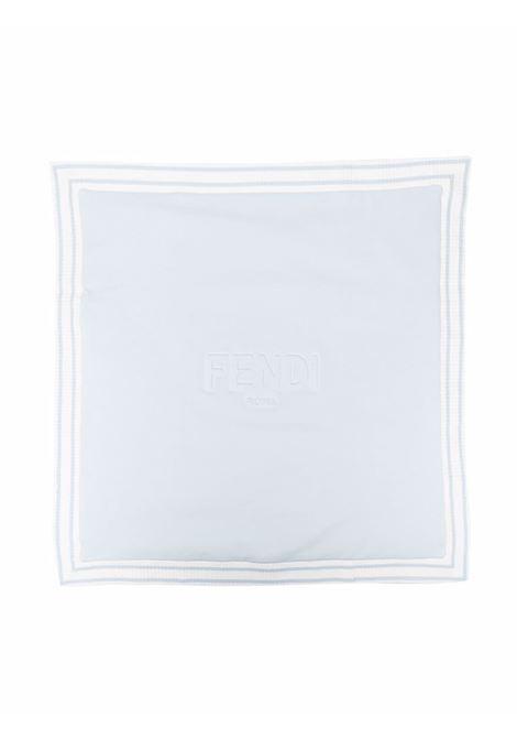 Blanket with contrasting details FENDI KIDS | BUJ192 95NF19J4