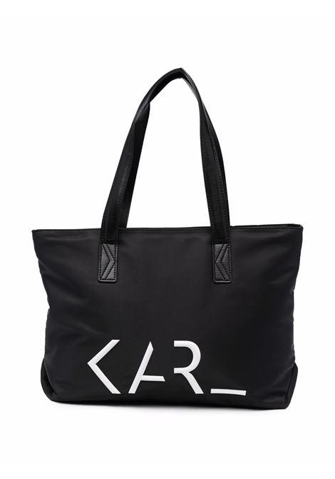Borsa con stampa KARL LAGERFELD KIDS | Z1011909B
