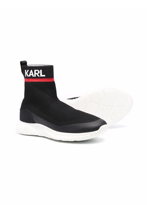 Sneakers without laces KARL LAGERFELD KIDS | Z29037T09B