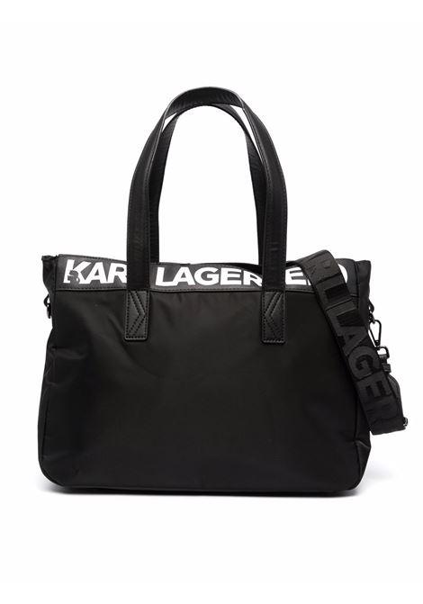 Changing bag with print  KARL LAGERFELD KIDS | Z9002209B