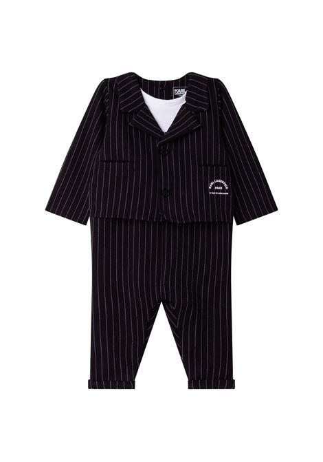 Pinstripe suit KARL LAGERFELD KIDS | Z94060M41