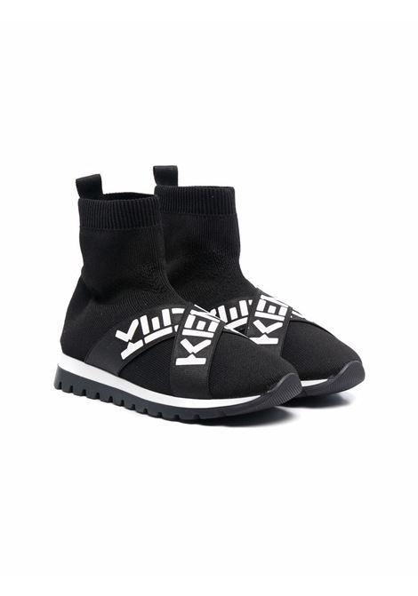 High sneakers with logo KENZO KIDS | K5902209P