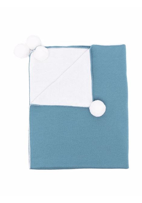 Blanket with pompom LITTLE BEAR | 313607