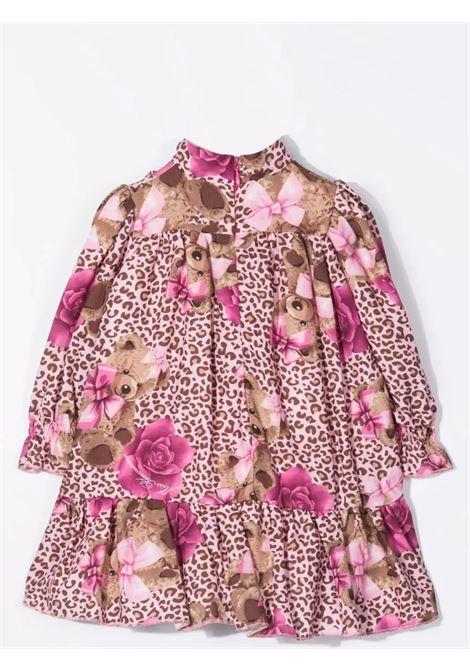 Dress with print MISS BLUMARINE KIDS | MBL413510