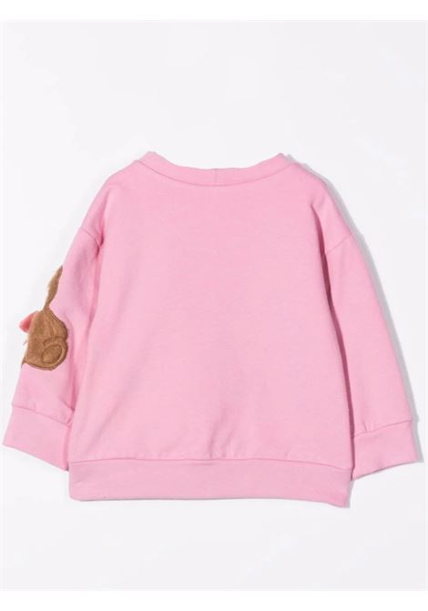 Sweatshirt with applications MISS BLUMARINE KIDS | MBL421505