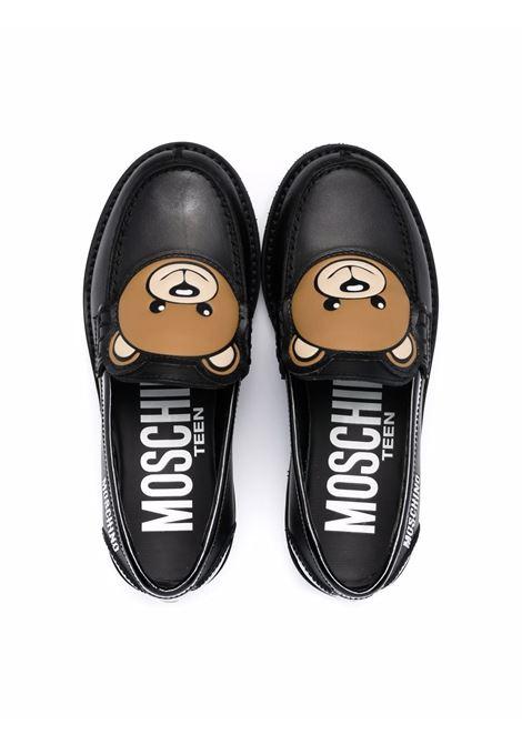 Mocassini con logo MOSCHINO KIDS | 689331