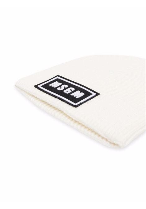 Cappello con logo MSGM KIDS | MS027743002